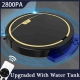 2800Pa Robot Vacuum Cleaner Remote Control With Water Tank Wet and Dry Vacuum Cleaner Mop Timing Smart Carpet Cleaner Machine
