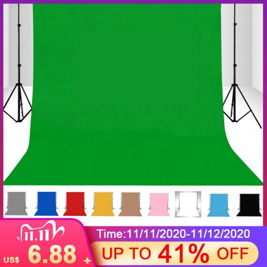1.5X1/2/3/4M Meter Photography studio Green Screen Chroma key Background Backdrop for Studio Photo lighting Non Woven 10 colors